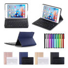 Ultra Slim PU Leather Case Cover + Wireless Bluetooth Keyboard For Apple iPad