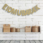 Eid Mubarak Glitter Banner Wall Decoration Happy Eid Bunting