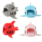 Shark Shape Puppy Pet Bed Dog House & Cat Kennel Warm Comfortable Dog Supplies