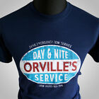 Orvilles Tow Service Every Which Way But Loose Movie Themed Retro T Shirt Navy