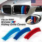 M-Sport Kidney Grille Tri-Color Covers Insert Clips for BMW *ALL Series HERE* US