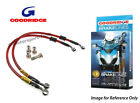 Goodridge For Suzuki GT250C 78 Front Braided Brake Line Hose Stainless Steel