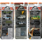 Matchbox Jurassic World Vehicles 5 Pack Choice of Packs NEW (One Supplied)