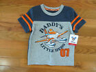 NWT Boy's Daddy's Little Hero - Helcopter - SS T-S-shirt    Size 24 Months