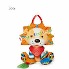 Developmental Baby Spiral Activity Soft Stuff Plush Toy Cot Lathe Hanging Gift