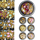 Nail Art Rhinestones 3D Mix Glitters Coloful Acrylic Manicure Tips Sticker D5657