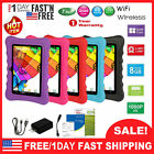 """7"""" inch Android 8.1 Tablet PC For Kid Children Dual Cameras WiFi 8GB Bundle Case"""