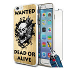 Dead Or Alive Design Hard Case Cover & Glass For Various Mobiles