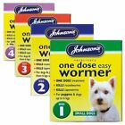 Johnson's One Dose Easy Wormer Dog Worming Treatment Tablets