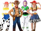 Child Disney TOY STORY Fancy Dress Costume Deluxe Jessie Buzz Woody Book Day Kid