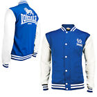 Lonsdale MONTE College Baseball Sweat Jacket Sweatshirt Blue Blouson Regular-Fit