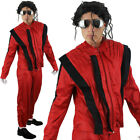 ADULT KING OF POP COSTUME 1980S FANCY DRESS POP STAR MENS SUPERSTAR JACKO ICON