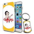 Betty Boop Design Hard Case Cover & Free Keyring For Various Mobiles - 17 $9.46 AUD on eBay