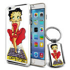 Betty Boop Design Hard Case Cover & Free Keyring For Various Mobiles - 22 $9.46 AUD on eBay