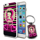 Betty Boop Design Hard Case Cover & Free Keyring For Various Mobiles - 23 $9.48 AUD on eBay