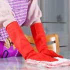 Kitchen Wash Dishes Cleaning Waterproof Long Sleeve Rubber Latex Gloves Tool USA