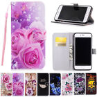 Smartphone Case Cover PU Leather Folding Card Slots For Samsung iPhone Huawei