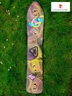 🔥vtg k2 snowboard 134cm retro 1988 G-force pointed square tail neon