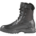 """5.11 Black 8"""" ATAC Side Zip Boots Mens Tactical Operator Field Duty Police Work"""