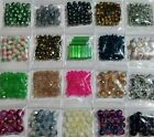 20 Bags Variety Mix Lot Beads glass crystal beading colorful cube pink green #T5