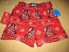"""Star Wars """"Darth Vader"""" Red Boxers/Sleep Shorts with Drink Coozie - NEW $11.0 USD on eBay"""