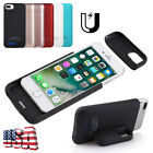 Portable Battery Cover Power Bank Charger Case for iPhone 6 / 6S / 7 / 8 & Plus