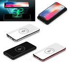 8000mAh Quick DIY Power Bank Charger USB Wireless Fast CASE Cellphone Kit