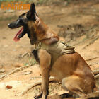 Tactical Dog Vest Harness Training Military Service Police Dog T-shirt XL Nylon