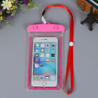 luminous Waterproof Phone Case Anti-Water Pouch for Swimming/Diving/Rafting/Park