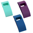 ONN Fitbit Silicone Cover For Fitbit Charge HR Purple, Blue and Teal