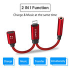CAFELE 2 in1 Lightning to 3.5mm Headphone Jack Adapter Charge Cable For iPhone 7