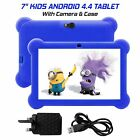 7 INCH Kids Android 4.4 Tablet PC 1+8GB Quad core HD Dual Cam WIFI Bundled