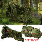Camouflage Camo Army Green Net Netting Camping Military Hunting Woodland LeavesBlind & Tree Stand Accessories - 177912