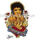 ELVIS BURNING LOVE COLLECTION - MACHINE EMBROIDERY DESIGNS ON CD