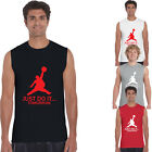 Just Do It Tomorrow Parody Mens Tank Top Sleeveless T-Shirts Muscle Gym Tee 0068