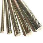 M3 / 3mm A4 MARINE STAINLESS STEEL Threaded Bar - Rod Studding Studs