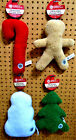 "CHRISTMAS / WINTER AKC 10"" Holiday Fleece Dog Puppy Toys CHOOSE TYPE"