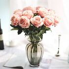 Artifical Rose Flower Charpie Flowers Fake Leaf Wedding Party Home Decor MW03332