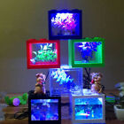 1pc Usb Decor Powerd Led Tank Clear Mini Aquarium Desktop Lighting Fish Powered