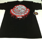 Mexico Coat of Arms Eagle Dripping Shirt L-4X One Deep Piranha Records