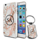 Personalised Marble Design Phone Case Cover & Keyring for Various Phones - 617