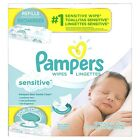 Pampers Sensitive Water Baby Wipes Refill or Pop-Top Packs - Select your Count