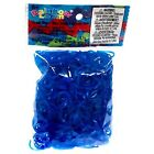~Brand New~ Rainbow Loom Ocean Blue Jelly Rubber Bands Refill + C... Get it Fast
