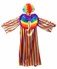 RAINBOW PRIDE COSTUME 3 PIECE GAY PRIDE LGBT ADULT MENS FANCY DRESS
