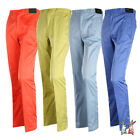 New Mens Poly Spandex Golf Trousers Comfortable Pants