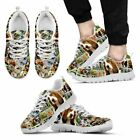 Lovely Basset Hound Print-Running Shoes For Men-Express Shipping