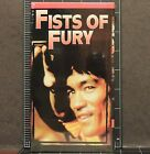 BRUCE LEE Fists of Fury VHS TAPE video Kung Fu Cinema Martial Arts vol2 from set