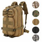 3P Army Tactical Assault Rucksack 30L Outdoor Molle Backpack Hiking Shoulders
