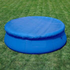 6/8/10ft Round Economy Swimming Pool Cover Inflatable Frame Easy Fast Set Blue