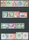 JAMAICA-1956-58 Set to £1 Sg 159-174  FINE USED V24406